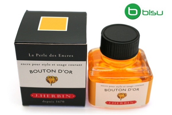 Mực J.Herbin French - 30ml - No.53 - Vàng (Bouton D'or)