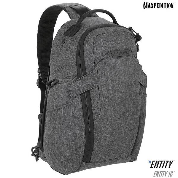 Maxpedition - Ba lô - Entity 16™ CCW-Enabled EDC Sling Pack 16L (NTTSL16CH - Charcoal)