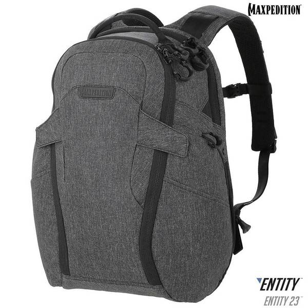 Maxpedition - Ba lô - Entity 23™ CCW-Enabled Laptop Backpack 23L ( NTTPK23CH - Charcoal)