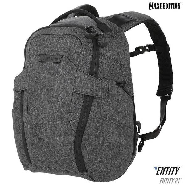 Maxpedition - Ba lô - Entity 21™ CCW-Enabled EDC Backpack 21L ( NTTPK21CH - Charcoal)