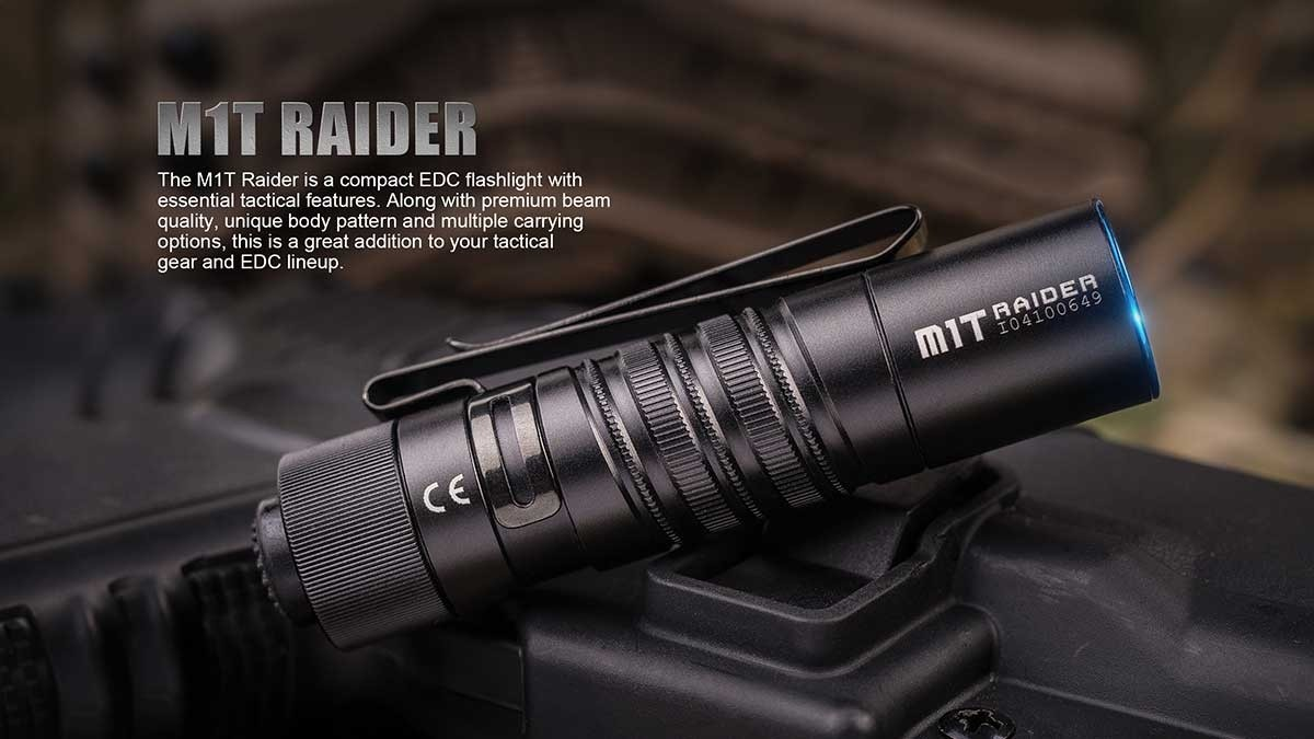 Đèn pin Olight - M1T Raider - 500 lumens