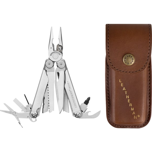 Kìm đa năng - Leatherman Wave Plus Heritage (Kèm Bao Da Made in USA)