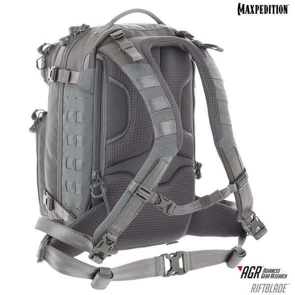 Maxpedition - Ba Lô RIFTBLADE™ CCW-Enabled Backpack 30L (Màu Ghi Xám - RBDGRY)