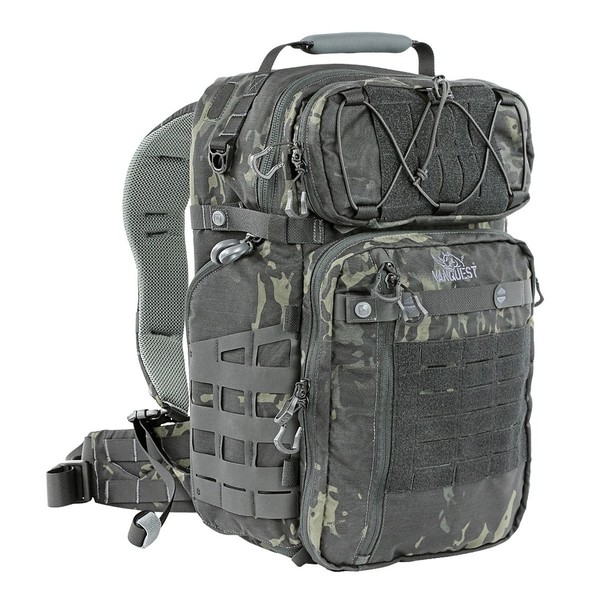 Vanquest - Balo TRIDENT-31 - 31L Backpack (Màu MultiCam-Black - 770131MCB)