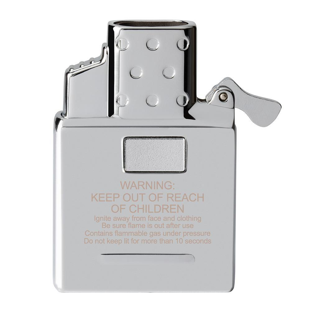 Zippo 65827 - Vỏ Chrome Butane Lighter Insert - Double Torch