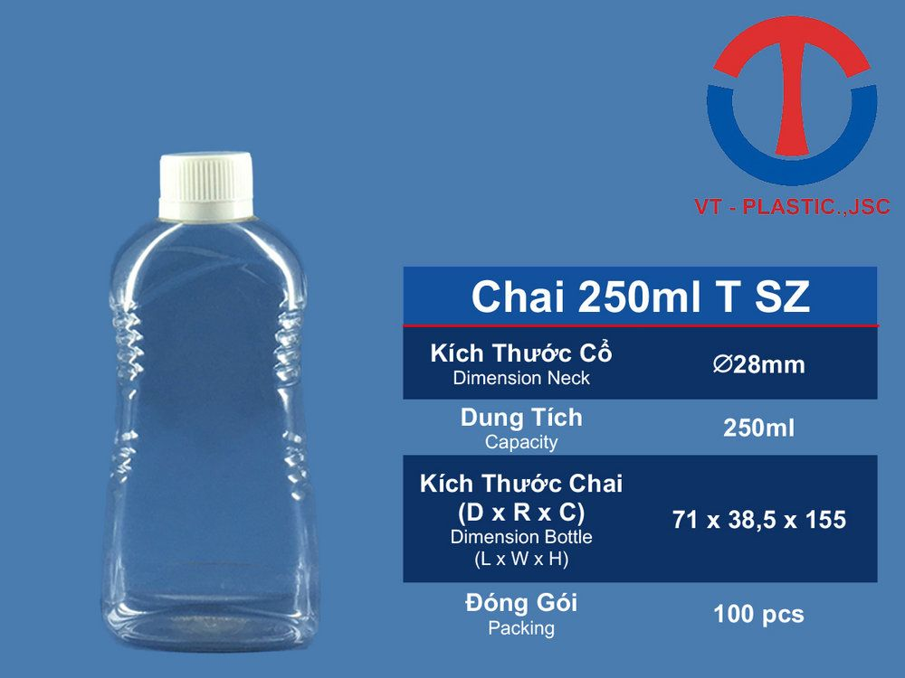 Chai 250ml T SZ