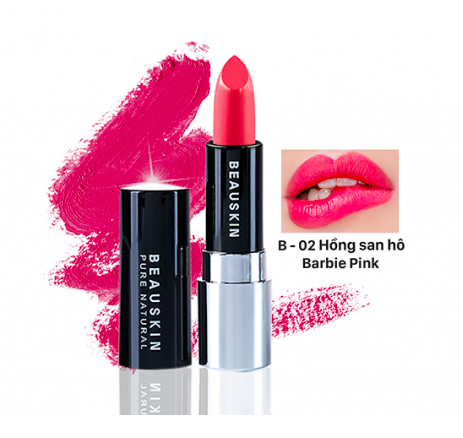 SON BEAUSKIN EXTRA MAKE UP MATTE LIPSTICK B-02