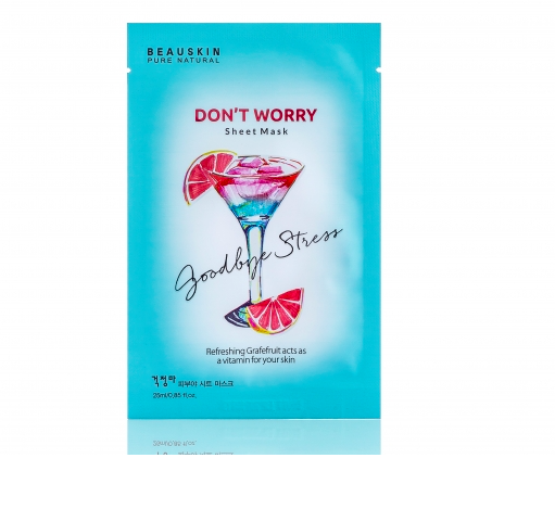 MẶT NẠ BEAUSKIN DON'T WORRY SHEET MASK