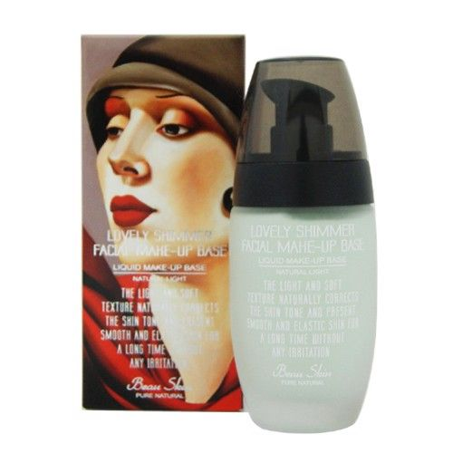 Kem lót làm sáng da Beauskin Lovely Shimmer Facial Make-up Base Alice Green 45ml