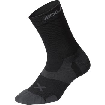 M | Tất lửng 2XU Vectr Cushion Crew Sock - Black