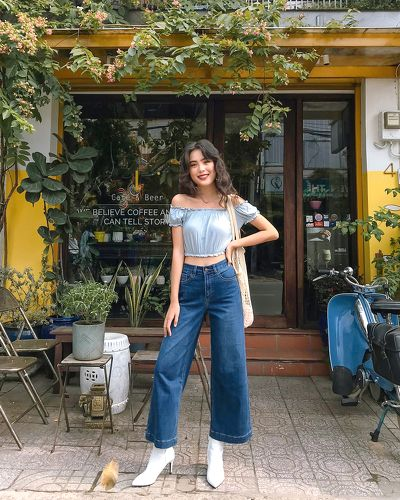 Culottes jeans was