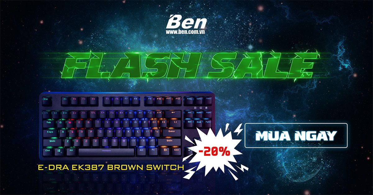 Flash sale Ban phim 9/2019
