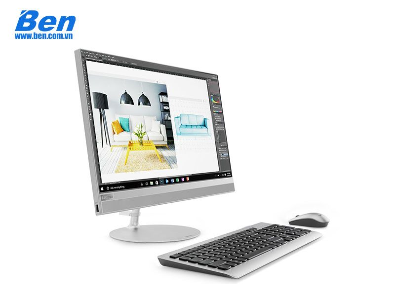 Lenovo IdeaCentre AIO 520-22ICB (F0DT0059VN)/Silver - I5