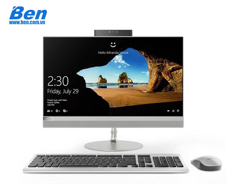 Lenovo IdeaCentre AIO 520-22ICB (F0DT0058VN)/Silver - I3