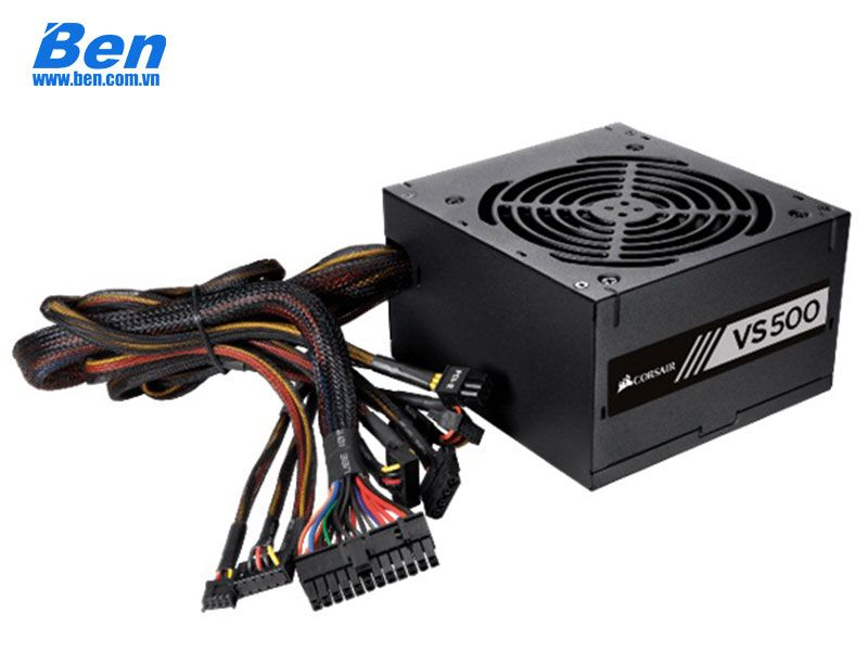 Nguồn Corsair Series VS 500W 80 Plus White Certified PSU