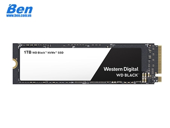 Ổ cứng gắn trong WD Black SSD 1TB /PCIe Gen3 8 Gb/s /M2-2280 /Read up to 3400MB/ Write up to 2800MB