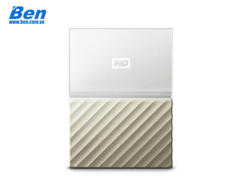 Ổ cứng gắn ngoài Western Digital My Passport Ultra 4Tb 2.5 inch USB 3.0 White - Gold