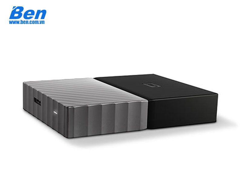 Ổ cứng gắn ngoài Western Digital My Passport Ultra 4Tb 2.5 inch USB 3.0 Black - Gray