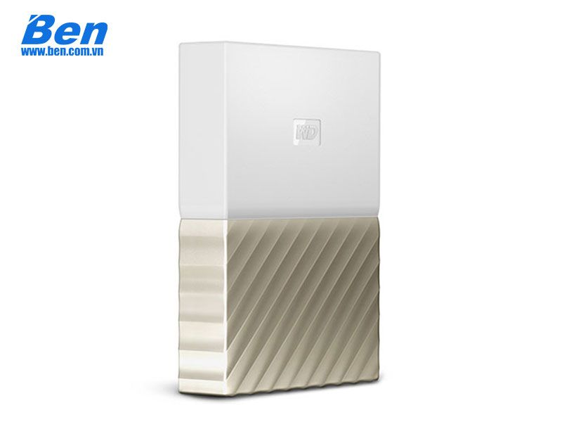 Ổ cứng ngoài Western 2.5 My Passport Ultra 2TB USB 3.0 White-Gold