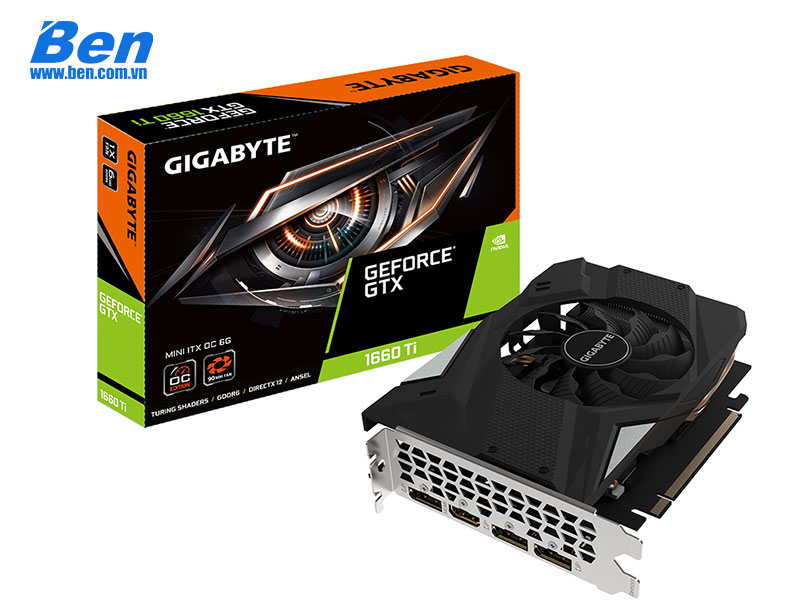 GIGABYTE GeForce GTX 1660 Ti MINI ITX OC 6G