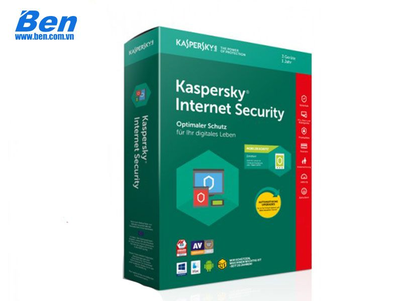 PM Kaspersky Internet Security (3User) 3PC - 1year
