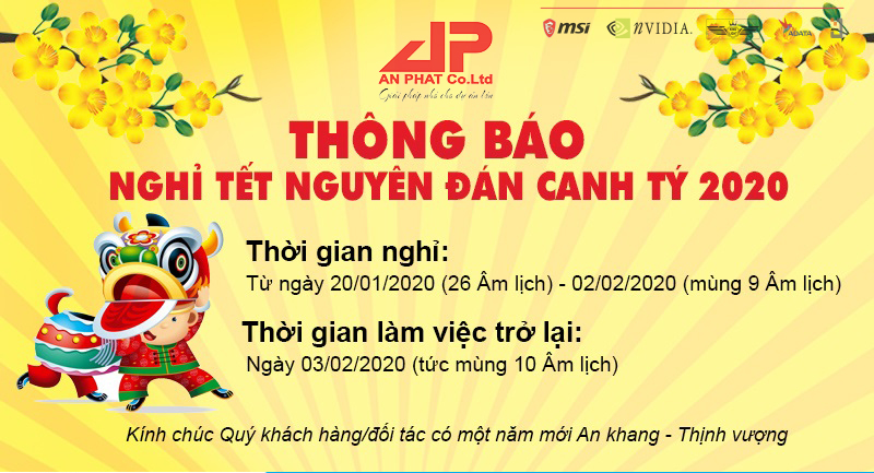 lịch nghể tết 2020