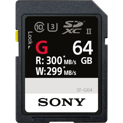 Thẻ nhớ SD Sony 64GB SF-G Series UHS-II