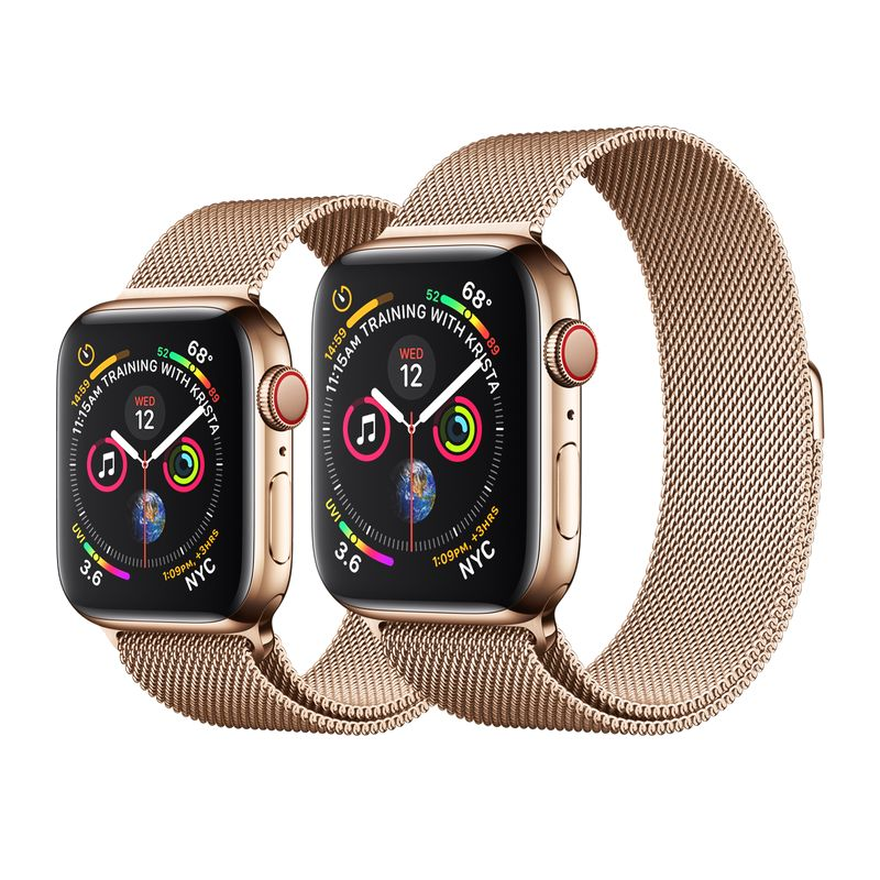 Apple Watch Seri 4 Thép 40 (LTE/GPS) 40mm - Fullbox 100%
