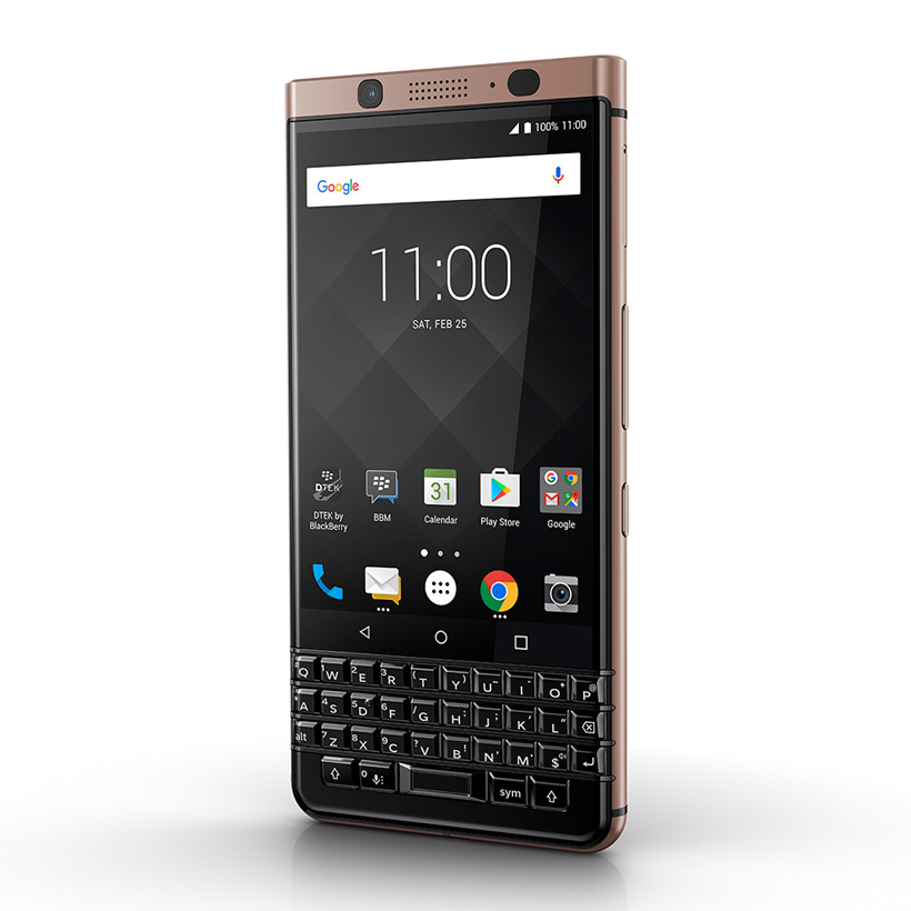 BLACKBERRY KEYONE BRONZE EDITION CHÍNH HÃNG (NEW) DUAL SIM