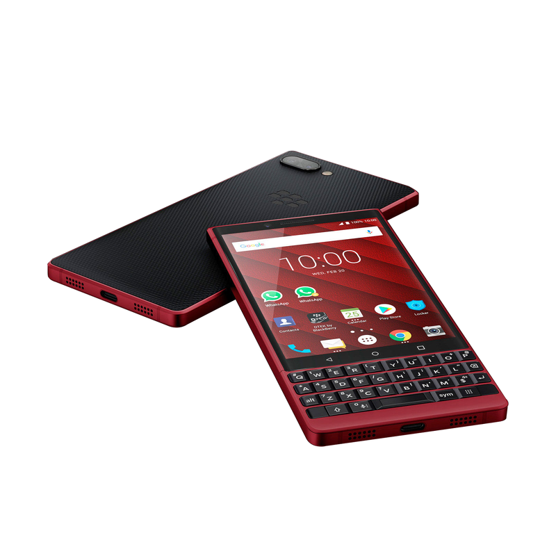 BLACKBERRY KEY2 RED EDITION CHÍNH HÃNG (NEW)