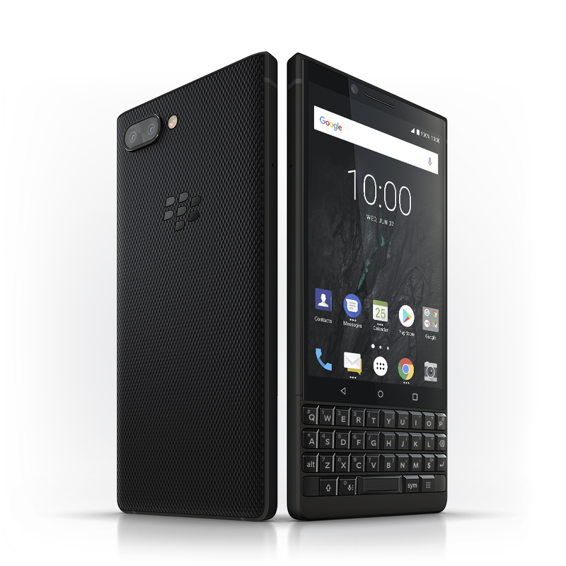 BLACKBERRY KEY2 BLACK - LIKENEW/NOBOX
