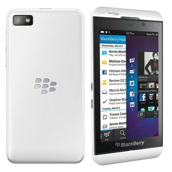 BLACKBERRY Z10 WHITE - LIKENEW/BOX