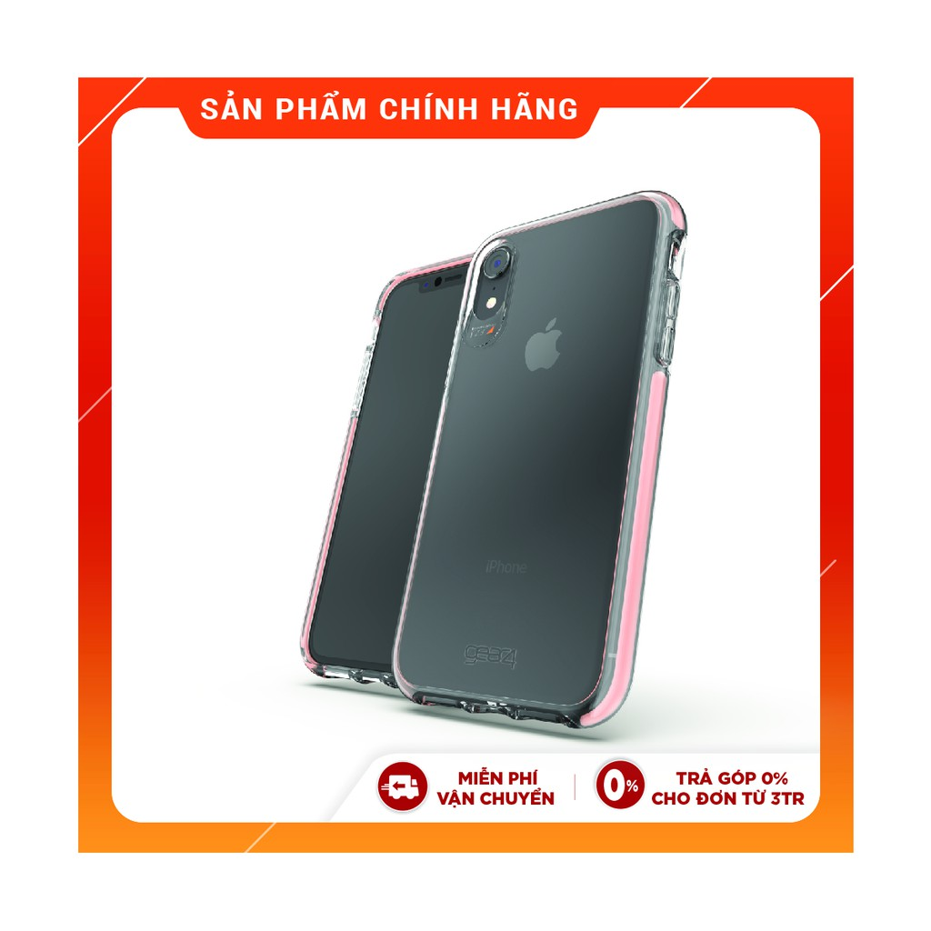 Ốp lưng Gear4 chống sốc D3O Piccadilly 3m cho iPhone XR - IC9PIC - Rose Gold IC9PICRSG