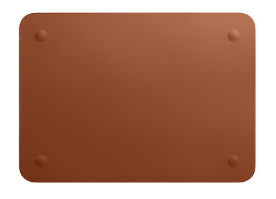 Apple Leather Sleeve for 12‑inch MacBook - Saddle Brown