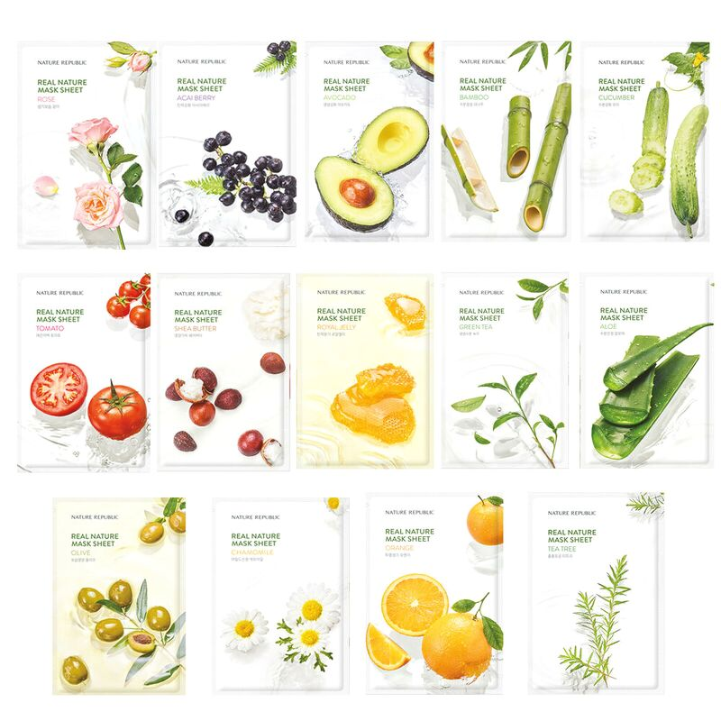 mặt nạ giấy Nature Republic Real Nature
